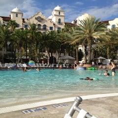 Photo taken at Hard Rock Hotel Beach Pool by Nicholas V. on 4/15/2012