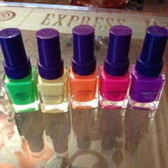 Photo taken at Express Nails by Alexandra D. on 7/21/2012