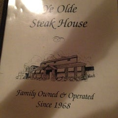 Photo taken at Ye Olde Steak House by Echo O. on 4/5/2012