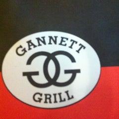 Photo taken at Gannett Grill by Ridgely B. on 7/18/2012