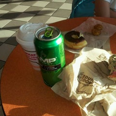 Photo taken at Dunkin Donuts by Josh J. on 3/23/2012