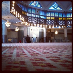 Photo taken at Masjid Negara (National Mosque) by Boy T. on 7/21/2012