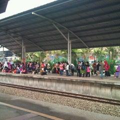 Photo taken at KTM Line - Bandar Tasik Selatan Station (KB04) by Leong Soon T. on 2/7/2012