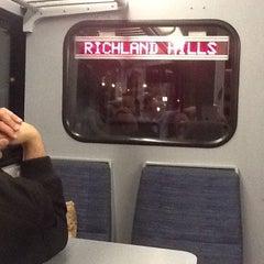 Photo taken at Richland Hills Station (TRE) by Billie Jean L. on 3/4/2012