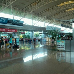 Photo taken at Ningbo Lishe International Airport (NGB) 宁波栎社国际机场 by SanKo 撒. on 7/21/2012