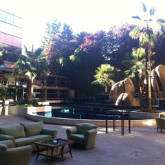 Photo taken at Santiago Marriott Hotel by Alejandro V. on 3/27/2012