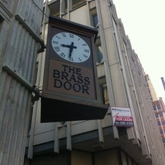Photo taken at The Brass Door by Cassandra K. on 4/1/2012