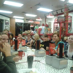 Photo taken at Firehouse Subs by Elisa F. on 12/19/2011