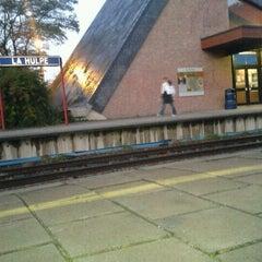 Photo taken at Gare de La Hulpe by Natacha V. on 10/20/2011
