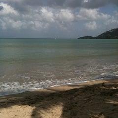Photo taken at Sandals Halcyon Beach Resort by Greg B. on 3/5/2011