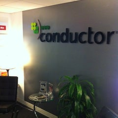 Photo taken at Conductor by Tarek P. on 9/13/2012