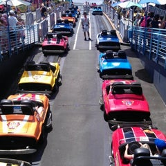 Photo taken at Tomorrowland® Speedway by Carla G. on 8/3/2012