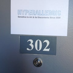 Photo taken at Hyperallergic HQ by Cat W. on 2/6/2012