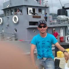 Photo taken at Royal Malaysian Navy, Sepanggar by Syazwan A. on 5/5/2012