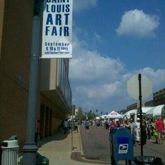 Photo taken at St Louis Art Fair by Jenn K. on 9/11/2011