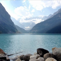 Photo taken at Lake Louise by Laissez F. on 8/27/2012
