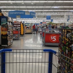 Photo taken at Walmart Supercenter by Angel N. on 7/7/2012