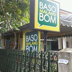 Photo taken at Baso Malang BoM by Iwan W. on 1/27/2012
