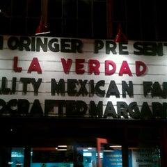Photo taken at La Verdad by Dustin B. on 1/11/2012