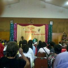 Photo taken at Sekolah Don Bosco by Thalia B. on 12/16/2011