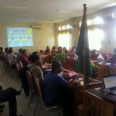 Photo taken at Bappeda Jembrana by noor ramdhoni i. on 11/17/2011