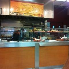 Photo taken at Café Bonjour Deli & Pizza by Brittnay on 8/29/2012