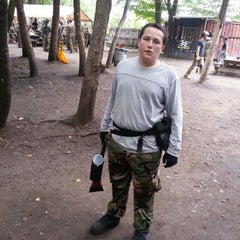 Photo taken at Cousins Paintball Staten Island by 'Michael R. on 8/19/2012