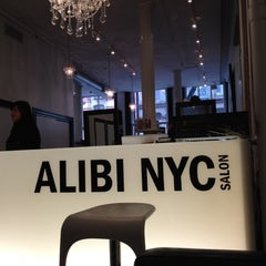 Photo taken at Alibi NYC Salon by Roberto E. on 3/16/2012