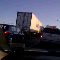 Photo taken at NJ Turnpike Exit 14 by Deborah D. on 9/16/2011