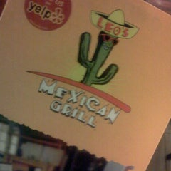 Photo taken at Leos Mexican Grill by Ray B. on 1/4/2012