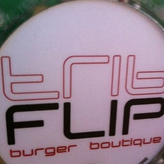 Photo taken at FLIP Burger Boutique by Megan C. on 4/15/2012