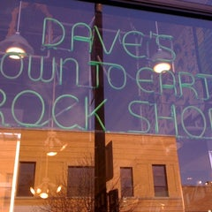 Photo taken at Dave's Down to Earth Rock Shop by Jim D. on 11/5/2011