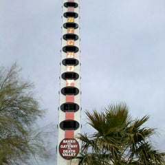 Photo taken at World's Tallest Thermometer by Matt C. on 1/22/2012