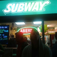 Photo taken at Subway by Rony F. on 6/29/2012