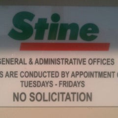 Photo taken at Stine Corporate Office by Ryan A. on 7/13/2011