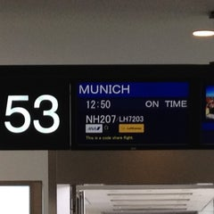 Photo taken at NRT - GATE 53 (Terminal 1) by lanikai_peach on 12/23/2011