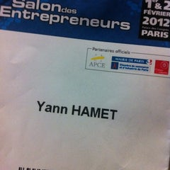 Photo taken at Salon des Entrepreneurs 2012 by Yann H. on 2/2/2012