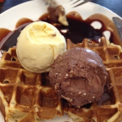 Photo taken at Udders by Cindy F. on 8/18/2012
