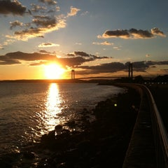 Photo taken at Shore Parkway Greenway by Karissa W. on 9/19/2011