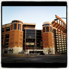 Photo taken at Darrell K. Royal-Texas Memorial Stadium by Alissa S. on 1/3/2012