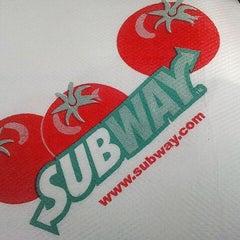 Photo taken at SUBWAY by Shida R. on 1/18/2012