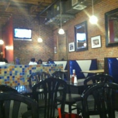 Photo taken at AJ's Burgers by Laura M. on 10/26/2011