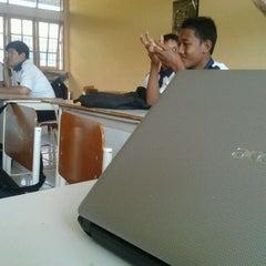 Photo taken at SMK N 5 TELKOM by Noval Putra P. on 4/2/2012