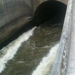 Photo taken at Saylorville Dam by David M. on 6/15/2012