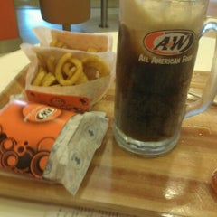 Photo taken at A&W by Patricia C. on 12/1/2011