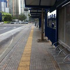 Photo taken at Avenida Santo Amaro by Guilherme R. on 9/12/2011