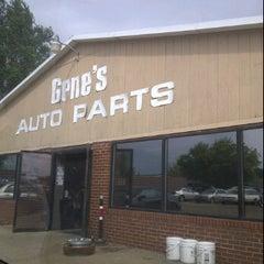 Photo taken at Gene's Auto Parts by Jenilee W. on 8/31/2011