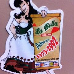 Photo taken at La Bella Pizzaria by Nehi beta O. on 3/21/2012