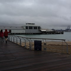 Photo taken at Devonport Ferry Terminal by Mauricio G. on 3/10/2012
