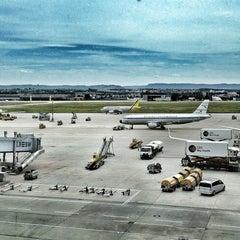 Photo taken at Stuttgart Airport Manfred Rommel (STR) by Stephan B. on 6/24/2012